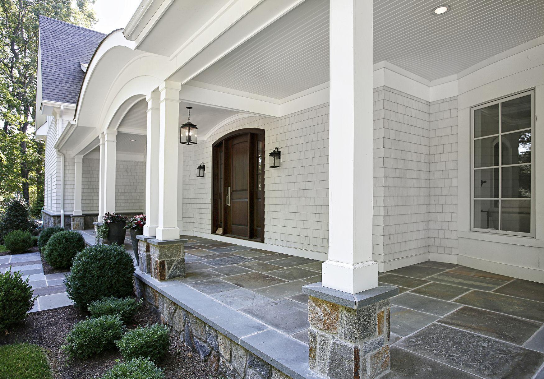 Darien Front Porch Columns 64